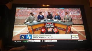 College football Week 5 Courtney of ESPN college GameDay