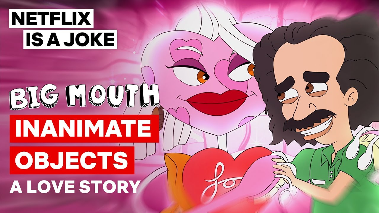 Jay And Coach Steve Have Inanimate Valentines | Big Mouth | Netflix Is A Joke