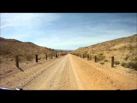 Offroading Lake Mead National Recreation Area Part 2 - 2011-03-13