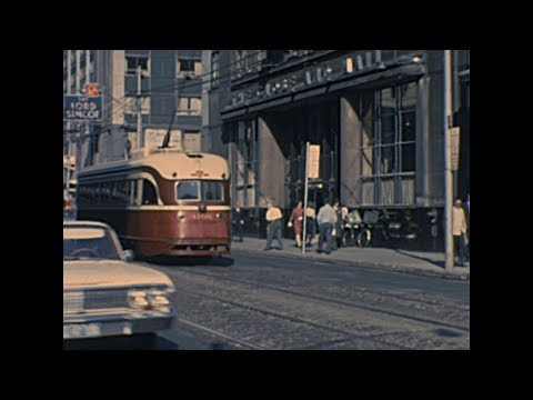 Toronto 1965 archive footage