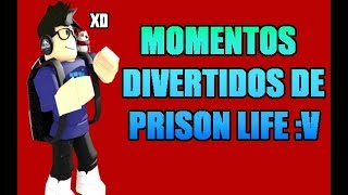 FUN MOMENTS IN PRISON LIFE ROBLOX FUNX MOMENTS #1