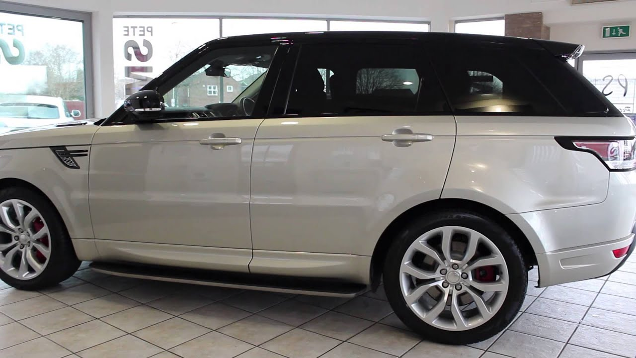 Land Rover Autobiography >> Land Rover Range Rover Sport SDV6 AUTOBIOGRAPHY DYNAMIC ONE OWNER PANORAMIC ROOF - YouTube