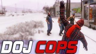 Dept. of Justice Cops #617 - SnowFall SnowBall