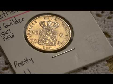 Netherlands 1875 Ten Gulden Gold Coin