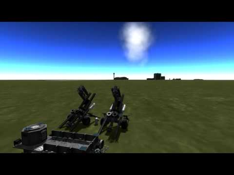 Kerbal Space Program (KSP) - KSC defense department : Towed artillery systems and HVAR