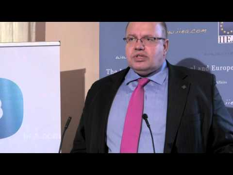 Minister Peter Altmaier on The German Energiewende in the European Context