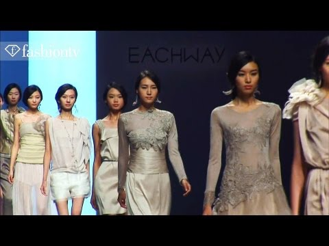 Eachway Spring/Summer 2012: Glamorous Fashion Show in Beijing | FashionTV ASIA