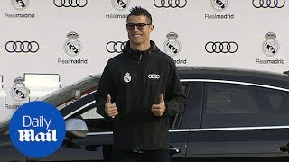 Ronaldo given luxurious Audi after Champions League performance - Daily Mail