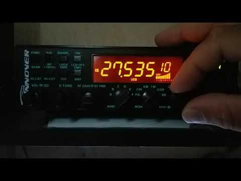 Setup alinhamento escondido Rádio Hannover BR9000.