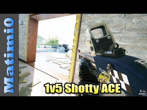 1v5 Shotty Ace  Rainbow Six Siege