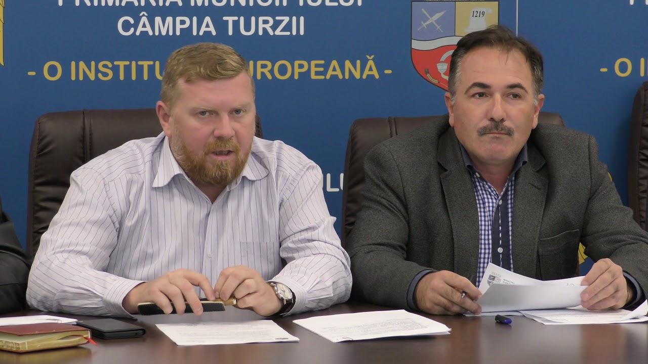 Consiliul Local Câmpia Turzii - ședință de îndată (07.11.2018)