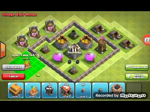 Max Th3 Clashofclans Base Youtube