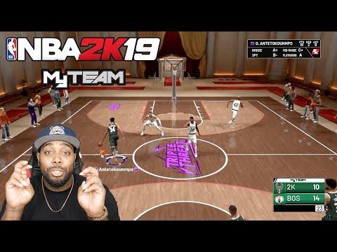 NBA 2K19 MyTEAM - New Triple Threat Online Mode & 3v3 Gameplay | Prelude Drops Aug 31st
