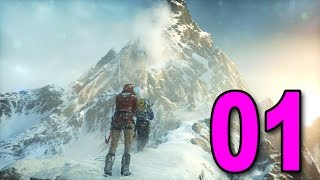 Rise of the Tomb Raider - Part 1 - Lara is Back! (Let's Play / Walkthrough / Gameplay)