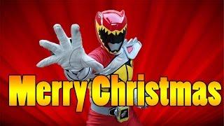Power Rangers Dino Charge Merry Christmas Nicholas
