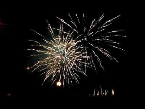 Coors Field Fireworks - July 9, 2016