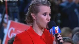 Путин про Навального в ПРЯМОМ ЭФИРЕ, вопрос от Собчак 14.12.17