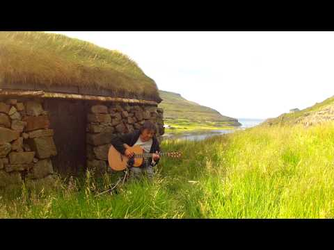 The Times They Are A-Changin' - Played On THE FAROE ISLANDS - Acoustic Fingerstyle -  Helmut Bickel