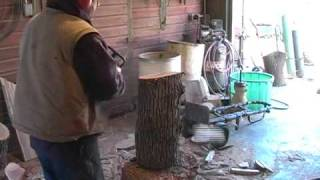 Randy Erb Carvings - How To Carve A Wood Sculpture With A Chainsaw