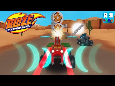 Blaze and the Monster Machines - Badland Track 6 - 10 | Blaze The Magnetic Monster Machine