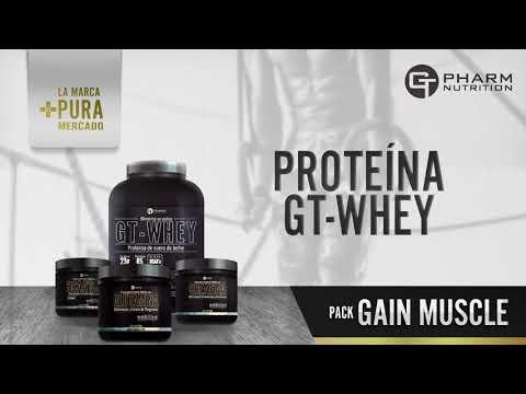 Gain Muscle - GT Pharm Nutrition