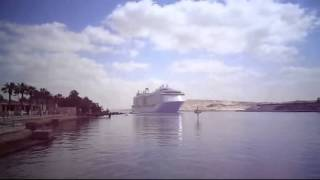 floating city to the largest passenger ship in the world and from the Suez Canal May 2015