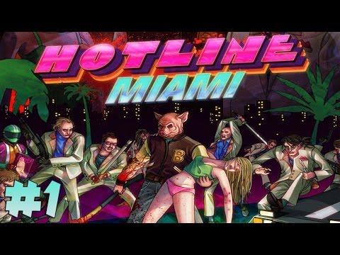 Прохождение Hotline Miami - Заказная Резня #1