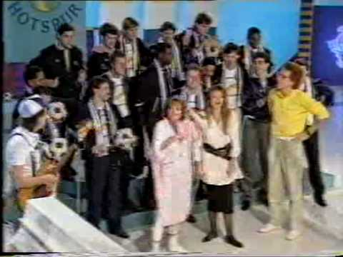 """Chas & Dave with Tottenham Hotspur - """"Hot Shot Tottenham"""" live on Blue Peter 1987"""