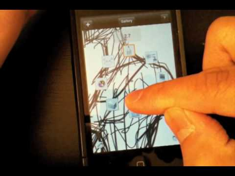 Truly Outrageous: iPhone sketching on the go