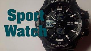 Годинник Sport Watch Skmei огляд, налаштування, перевірка на водонепроникність