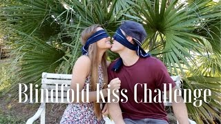 Blindfold Kissing Challenge | Kristin Lauria