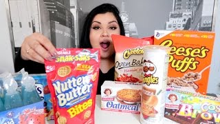 Mukbang: Favorite JUNK FOOD as a Kid