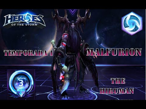 Heroes of the Storm | Temporada 1 | Malfurion | Ranked | Diamante | Gameplay Español