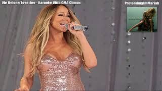 """We Belong Together"" - Mariah CareyOKE 🎤 (w/ ""GMA"" Playback) HQ"