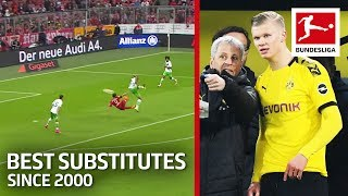 Top 10 Substitute Game-Changers Since 2000 - Ribery, Haaland, Lewandowski & More
