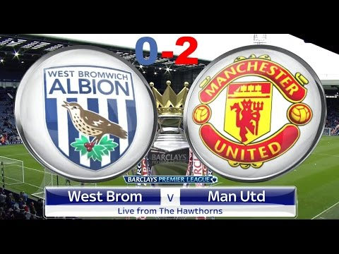 West Brom vs Manchester United 0-2 | All Goals & Highlights | 17.12.16