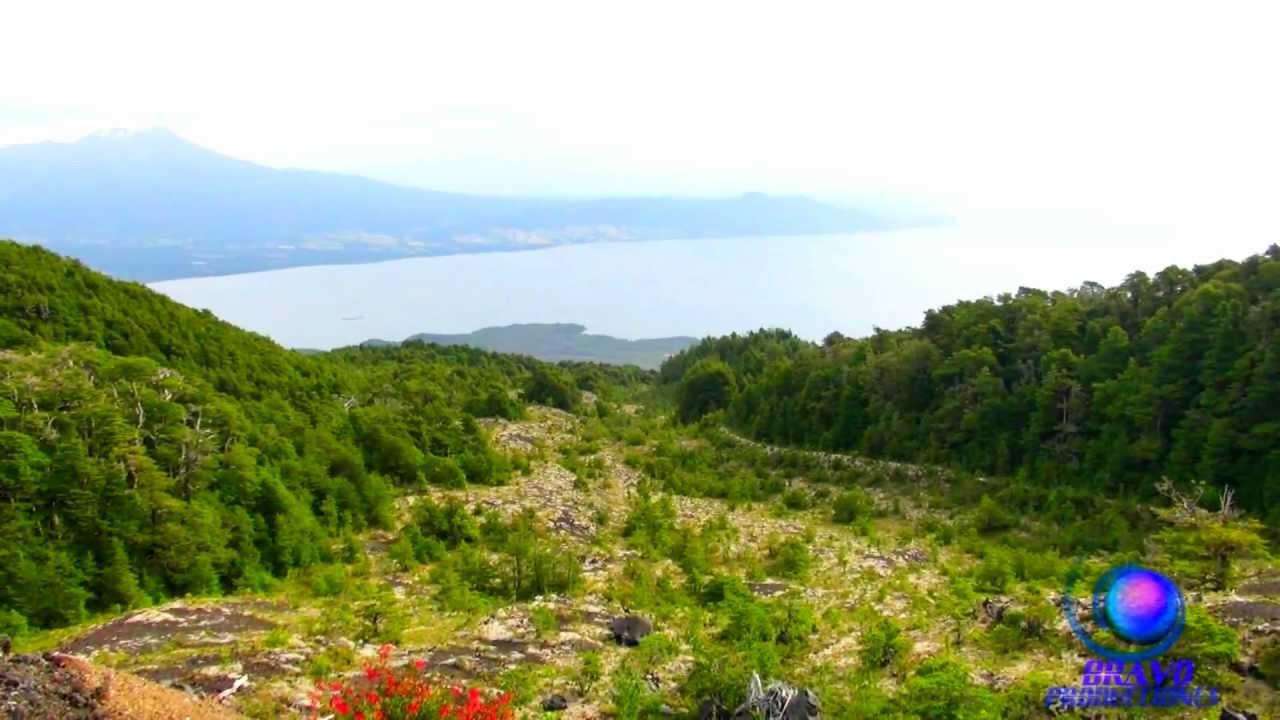 Sur De Chile 1080p Hd Volc N Osorno Lago Llanquihue