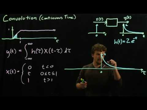 Signals and Systems - Convolution theory and example