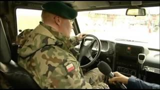 Samochody HONKER na misji w Kosowie