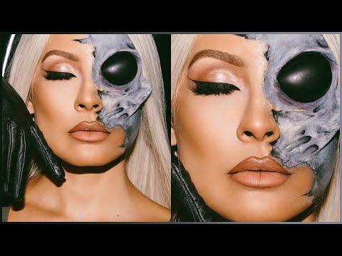 Alien Halloween Makeup Tutorial thumbnail