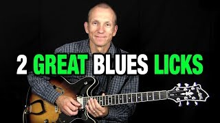 2 Great Guitar Blues Licks - Free Lesson from Dolphinstreet