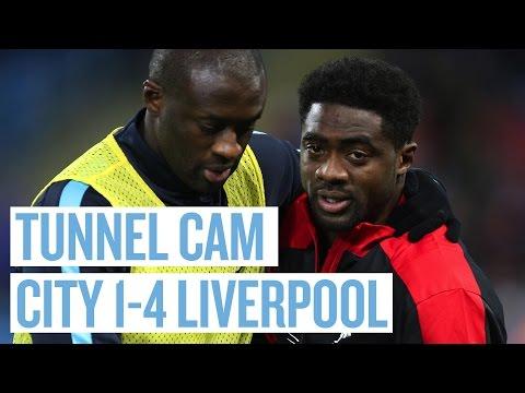 TUNNEL CAM | City 1-4 Liverpool