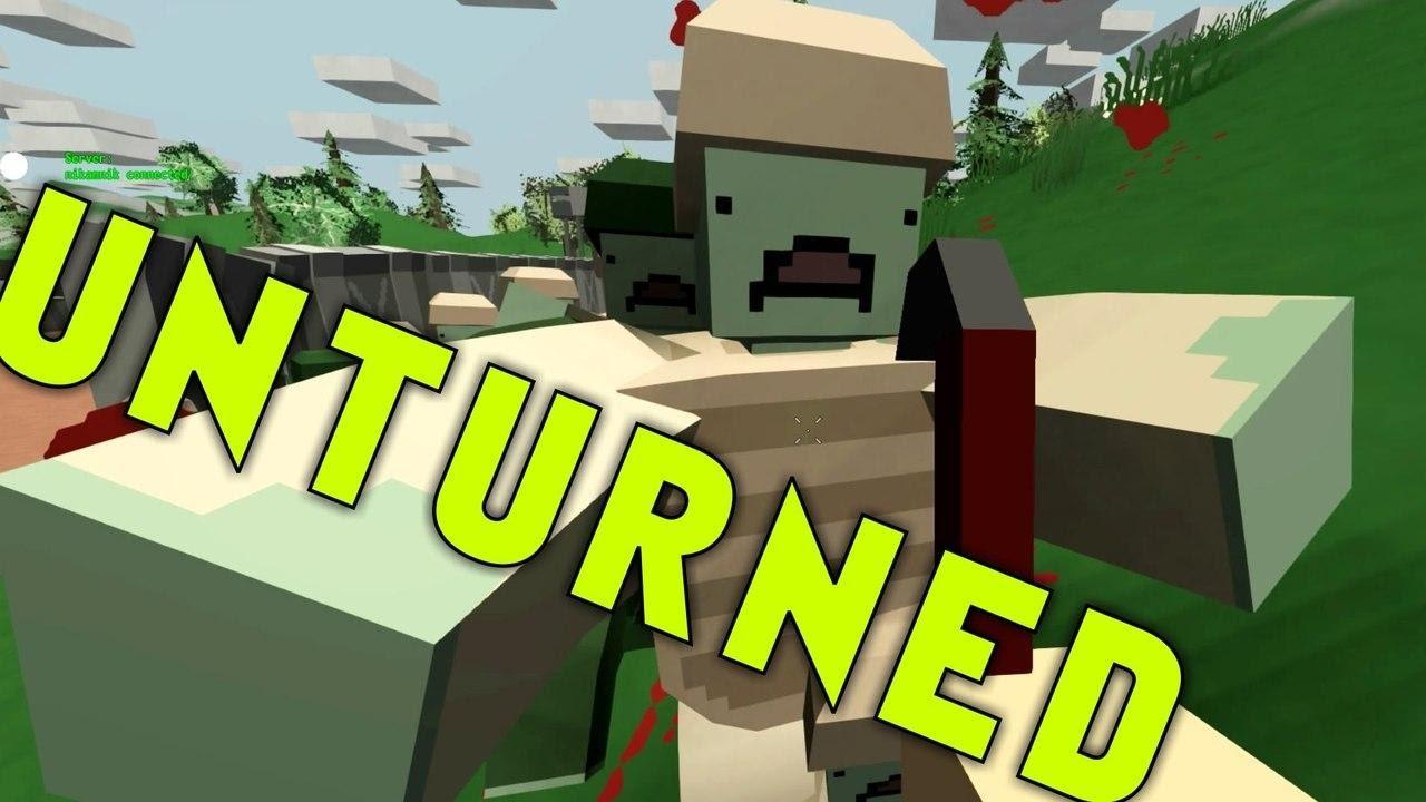 Unturned играть сети steam