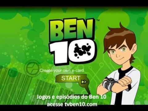 638ac6b9c21 Jogos e Música Tema Ben 10 - YouTube