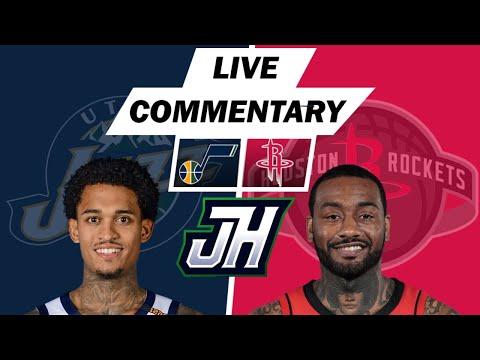 NBA Live Stream Utah Jazz vs Houston Rockets Live Play by Play & Reaction