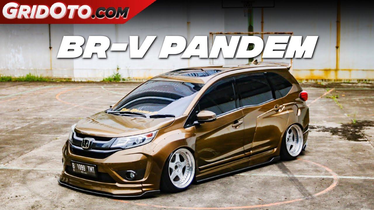 Satu-satunya Honda BR-V Dengan Body Kit Pandem | Modifikasi Mobil | GridOto Modif