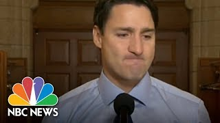 Justin Trudeau Cries Over Death Of Tragically Hip Frontman | NBC News