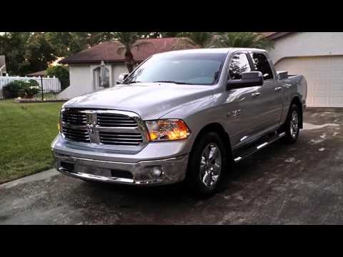 2016 dodge ram 1500 big horn bright silver metallic youtube. Black Bedroom Furniture Sets. Home Design Ideas