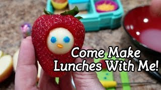 Come Make Bella's Lunches With Me! - Easy Bento School Lunches - Fun Kid Lunches - 33rd week