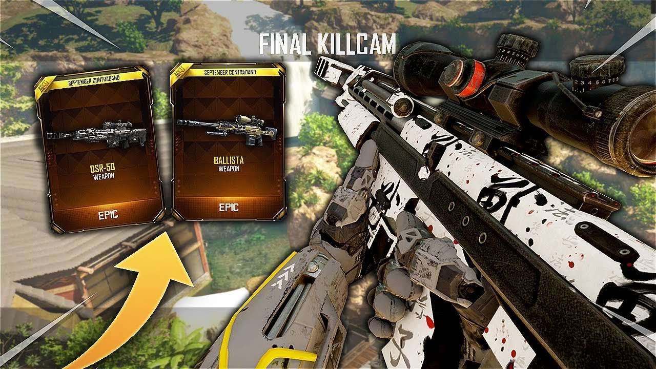 TRICKSHOTTING WITH NEW SNIPERS ON BO3! (these are so cool)